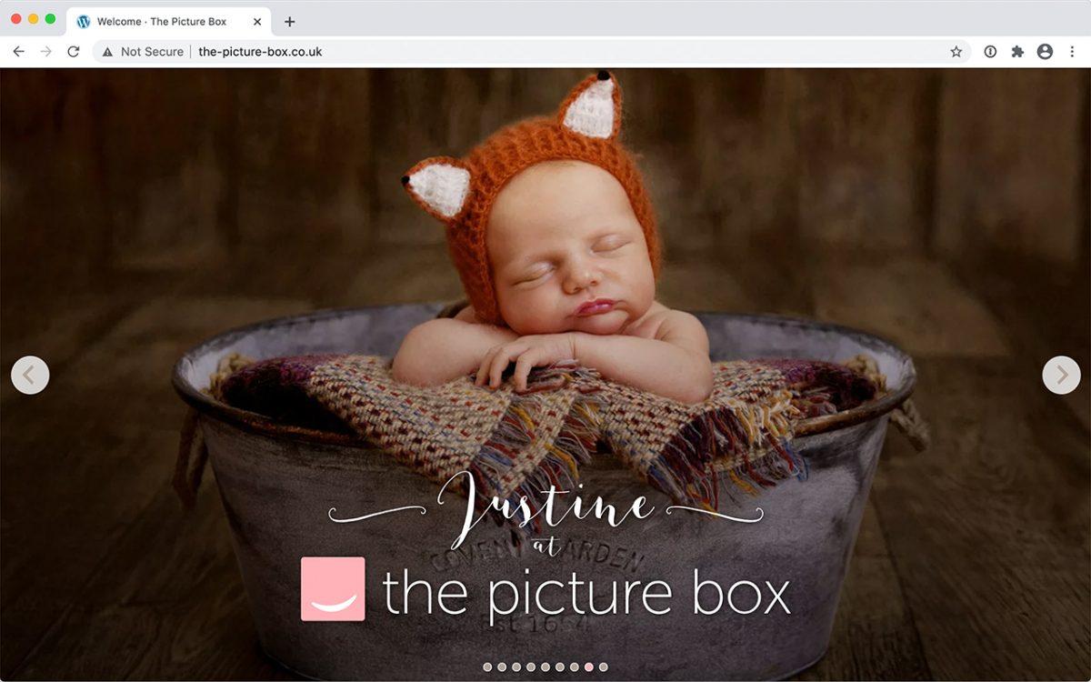 Example of custom WordPress photography theme by East Yorkshire web designer Art & Soul